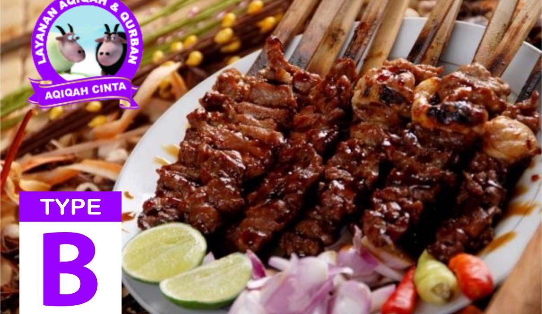 Harga Aqiqah Type B (Kambing/Domba Betina) Aqiqah Tangerang