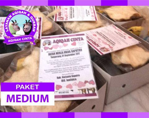 Harga Nasi Box Paket Medium - Aqiqah Tangerang