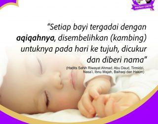 Aqiqah Tangerang - Sunnah Aqiqah bagi bayi yang baru lahir (Bag. 2)